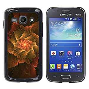 Paccase / SLIM PC / Aliminium Casa Carcasa Funda Case Cover - Abstract Leaf - Samsung Galaxy Ace 3 GT-S7270 GT-S7275 GT-S7272