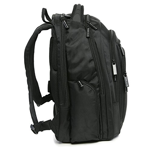 51PBntnQ4VL - Perry Ellis M150 Business Laptop Backpack, Black