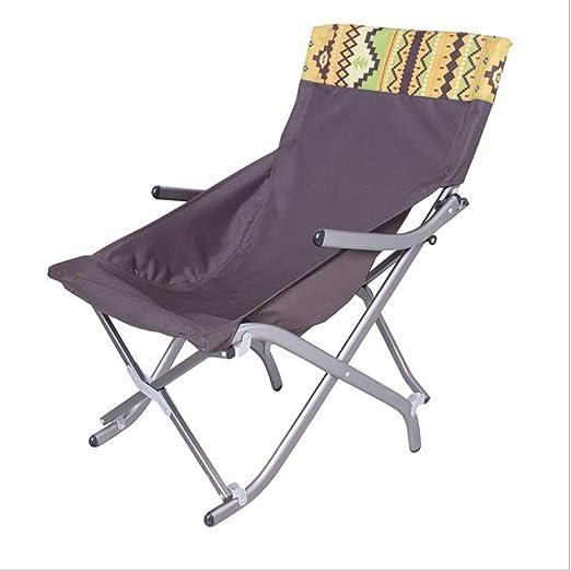 Gghy-camping tables Silla Plegable portátil de la Silla Que acampa ...