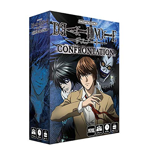 IDW Games APR180452 Death Note: Confrontation Strategy Board (Death Note Kira Game)