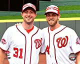 "Max Scherzer & Bryce Harper Washington Nationals 2015 MLB All Star Game Photo (Size: 8"" x 10"")"