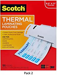 Scotch Laminating Pouches Variety Pack