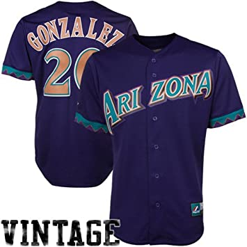 huge discount 7397f ab8a5 Amazon.com : Arizona Diamondbacks Luis Gonzalez Replica ...
