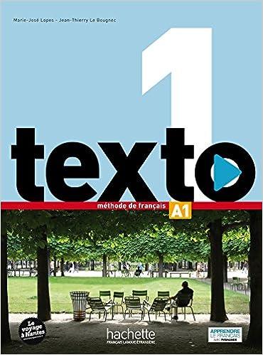 Texto 1 Livre De L Eleve Dvd Rom Manuel Numerique