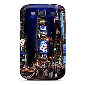 Tpu Case For Galaxy S3 With Times Square Night