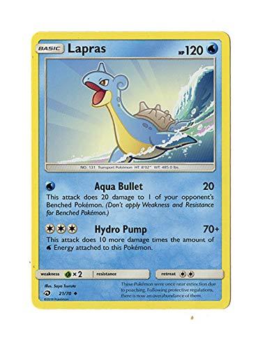 Sun Moon - Dragon Majesty - Lapras - 21/70 - Uncommon Card ()