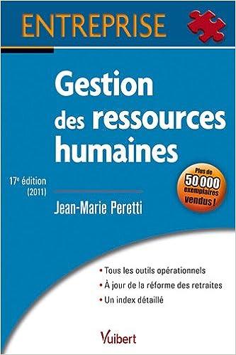 Téléchargement Gestion des ressources humaines pdf