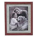Cheap Foreside Home & Garden FFRD06163 8X10 Vista Photo Frame Antique Red