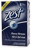 Zest Family Deodorant Bars, Ocean Breeze 4 oz - 8 Bars (Pack of 3)