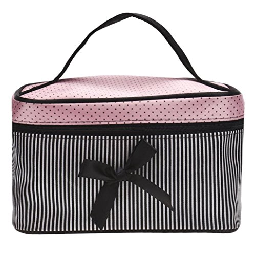 Embroidered Leather Toiletry Bag - 5