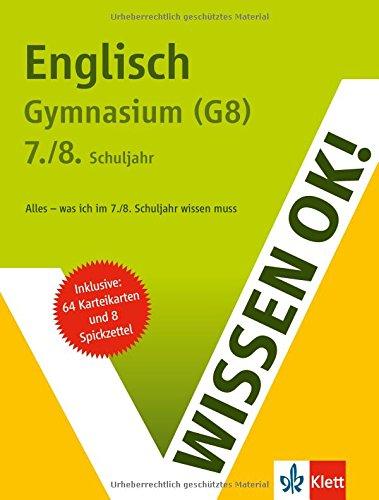 Wissen ok! Englisch 7./8. Klasse Gymnasium (G8)