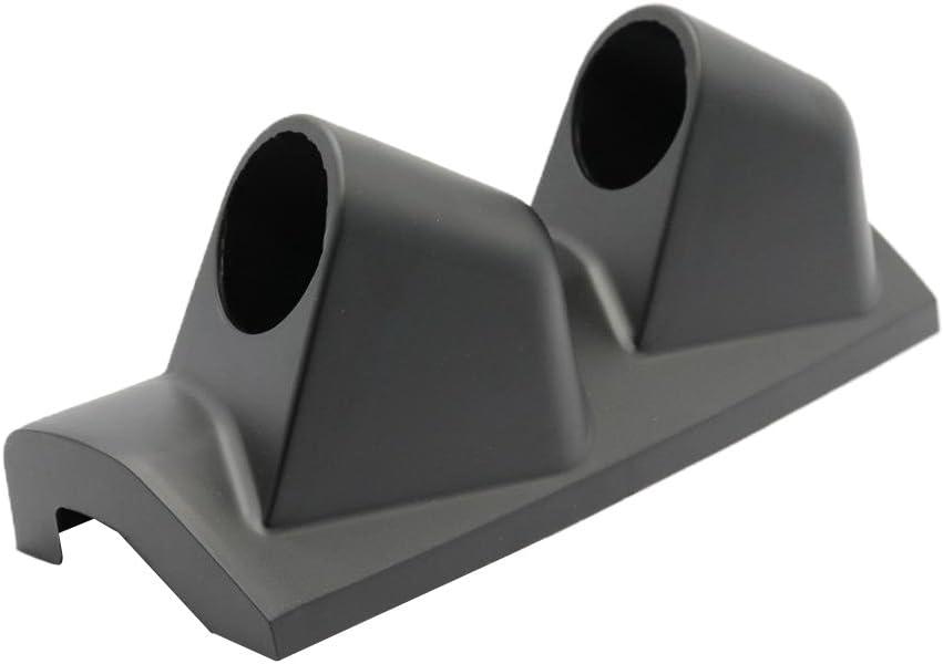 2 52mm Right Hand Drive Pod A Pillar 2 Hole Mount Gauge Holder Black