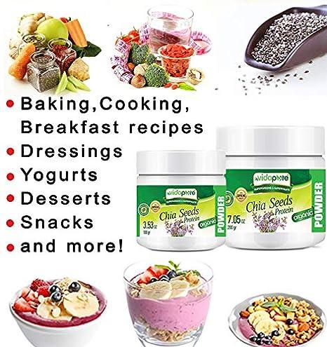 Amazon.com: CHIA Seed Protein Powder Organic Freeze-Dried ...