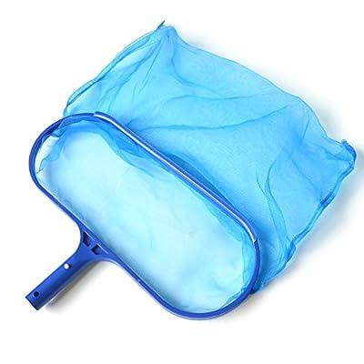 SupplyPro Swimming Pool Skimmer Leaf Net, Nylon Micro-Mesh Skimmer Net Fits Most Standard Pole for Removing Swimming Pool Leaves & Debris (Deep-Bag Pool Skimmer)