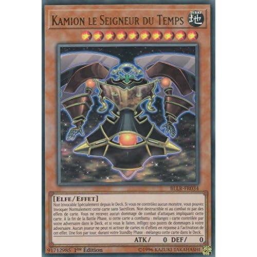 "Carte Yu-Gi-Oh! ""Kamion le Seigneur du Temps"" BLLR-FR034 - VF/ULTRA RARE"