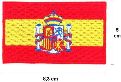 Parches-Sign Customisation-Run para bebé, diseño de bandera de España: Amazon.es: Hogar