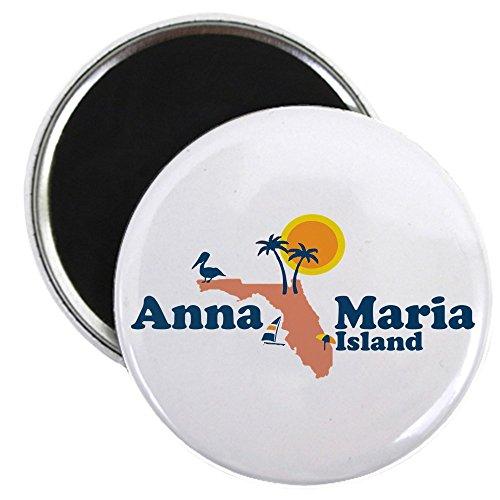 - CafePress - Anna Maria Island - Map Design. - 2.25