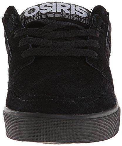 OSIRIS Skateboard Shoes LUMIN BLACK/BLACK/BLACK size 8