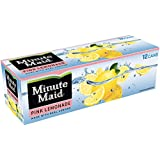 Pink Lemonade by Minute Maid 12 total cans