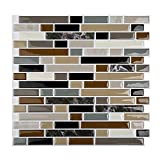 #7: Magictiles Peel and Stick Tile Kitchen Backsplash Self-adhesive Vinyl Sticker , 10.65