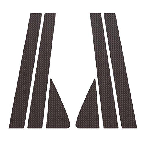 Ferreus Industries Carbon Fiber Pillar Post Trim Cover fits: 2008-2012 Ford Escape & Mercury Mariner 2008-2011 All Models PIL-046-CF-01