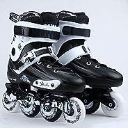 Roller Skates Outdoor Inline Skates Adult Roller Skates with ABEC 9 Carbon Bearing Outdoor Indoor Speed Skatin