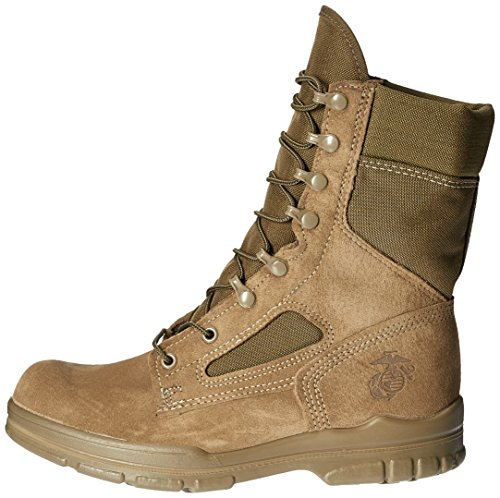quality design 6344e 17a62 Bates Men's USMC Lightweight DuraShocks Military & Tactical Boot, Olive  Mojave, 10.5 M US