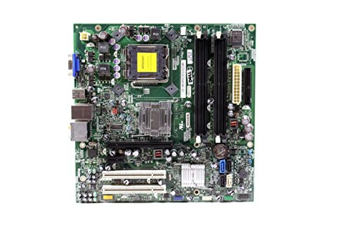 Genuine Dell FM586 RN474 GN723 Version G33M03 For Inspiron 530 530s, Vostro 200 400, Systems Intel G33 Express DDR2 SDRAM Motherboard Logic Board Main Board Compatible Part Numbers: FM586, RN474, GN723, G33M03 ()