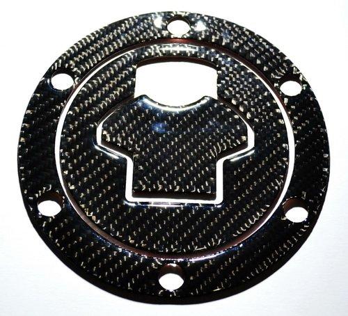 Real Carbon Fiber Fuel Tank Cap Filler Cover Pad fits BMW R1200RR R1200GS S1000RR pre-2008 (Please verify with your cap!!!)
