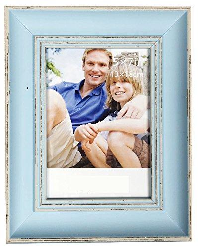 Lilian Blue Display 4x6 Desk Picture Frame