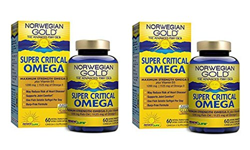 Renew Life Ng Super Critical Omega Fish Gels (120 Caps)