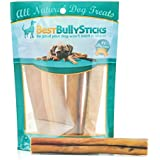 Best Bully Sticks Premium 6-inch Jumbo Bully Sticks, All-Natural, Free-Range, Grass-Fed, 100% Beef Single-Ingredient Dog Chews, 4 Pack