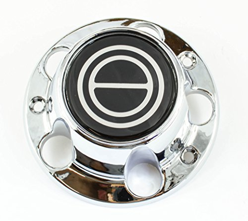 Ford Truck Bronco Van - BB Auto Supply New 1980-1996 Ford F150 Truck Bronco Van Wheel Hub Center Cap Chrome Black
