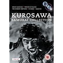 Kurosawa Samurai Collection - 5-DVD Box Set ( Shichinin no samurai / Kumonosu-jô / Kakushi-toride no san-akunin / Yojimbo / Tsubaki Sanjûrô ) ( S