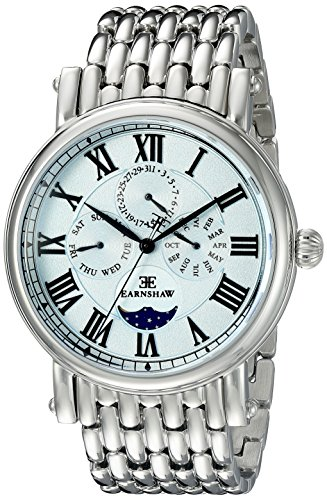 Thomas Earnshaw Men's ES-8031-22 Maskelyne Analog Display Japanese Quartz Silver Watch