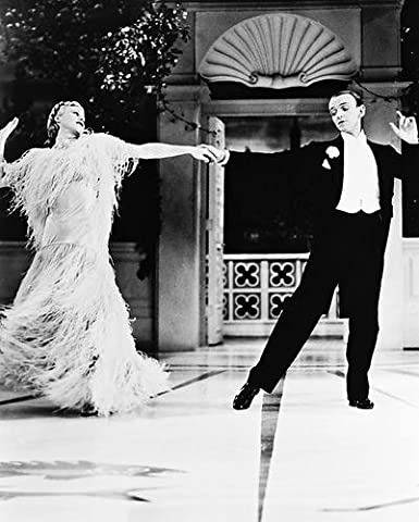 Fred Astaire Ginger Rogers Top Hat Dancing 8x10 Hd Aluminum Wall Art At Amazon S Entertainment Collectibles Store