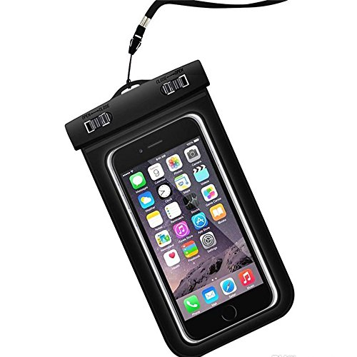 Universal Waterproof Case, Cellphone Dry Bag Phone Pouch for IPhone 8/7/7 Plus/6/6S Plus/SE/5S, Samsung Galaxy S8/S8 Plus/Note 8 6 5 4, Google Pixel 2 HTC LG Sony MOTO up to 6.0