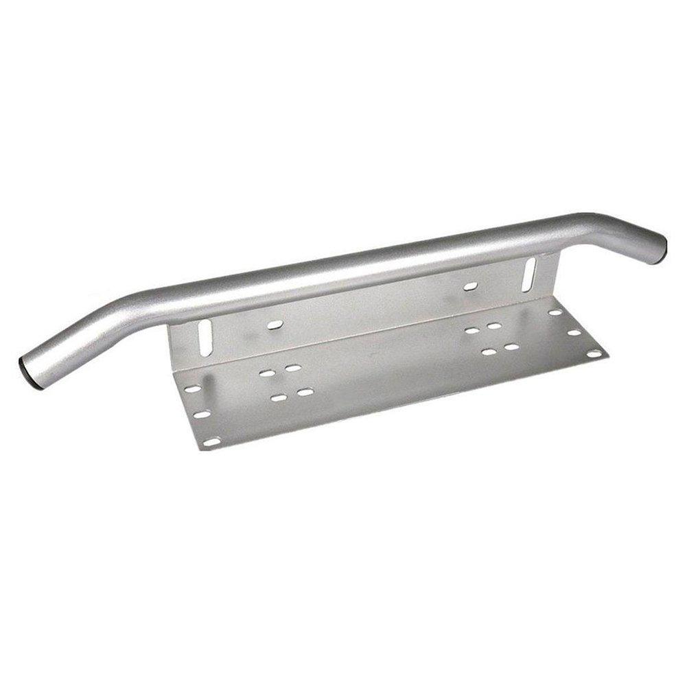 Affroad Pickup Triclicks Chrom Universal Aluminiumlegierung Sto/ßf/änger Kennzeichenhalterung Nummernschildhalter Arbeitslampe Halter f/ür Auto Lkw SUV
