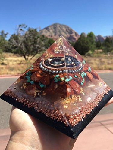 Large Sedona Vortex Orgone Pyramid by Sedona Orgone Vortex