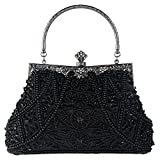 Kyпить Bagood Women's Vintage Style Beaded And Sequined Evening Bag Wedding Party Handbag Clutch Purse на Amazon.com