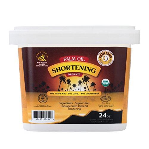 Grain Brain Organic Palm oil shortening 24 oz