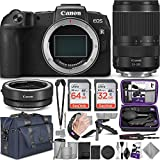 Canon EOS RP Mirrorless Digital Camera and 24-240mm Lens + Canon EF-EOS R Mount Adapter with Altura Photo Complete Accessory and Travel Bundle