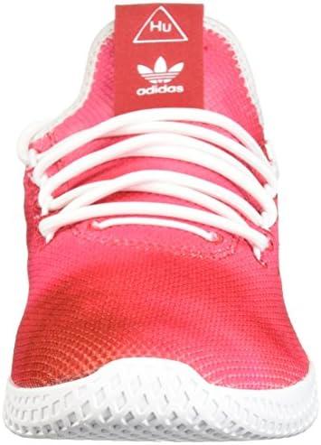 adidas Unisex-Kids PW Tennis HU J,Scarlet/White/White,5 Medium US Big Kid