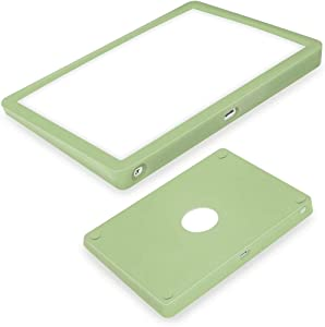 WESAPPINC Ultra Thin Silicone case for Apple Magic Trackpad 2 Wireless Touchpad Protective Cover,Anti-dust and Anti-Scratch Wear-Resistant Carrying Silicone Skin Bag (Matcha Green)