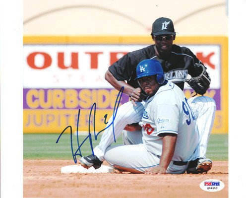 Hanley Ramirez Signed 8x10 Photograph Marlins - Certified Genuine Autograph By PSA/DNA - Autographed ()