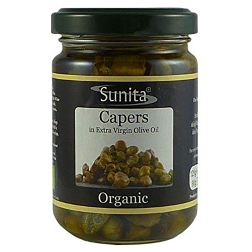 Organic Capers In Extra Virgin Olive Oil - 125g