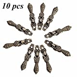 10pcs Antique Drawer Pull Jewelry Box Handle Wooden Case Cabinet Knobs