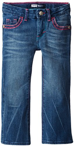 Levis Girls Thick Stitch Bootcut