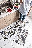 2 Piece Nonslip AntiFatigue Kitchen Mat