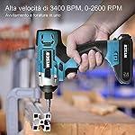WESCO-Avvitatore-a-Impulsi-18V-Avvitatore-a-Percussione-con-Batteria-Li-ion-20Ah-Max-Coppia-110Nm-Velocita-Variabile-2600RPM-Impulsi-0-3400bpm-Mandrino-a-635mm14-WS2318